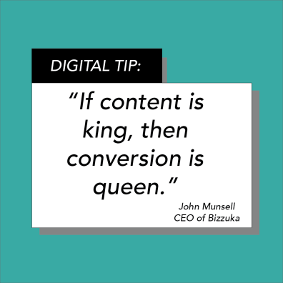 The Digital Tips series is dedicated to giving audiences tips with digital marketing, SEO, website development, and blogging.